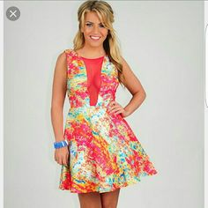 Nwt Blow You A Kiss Dress, Med