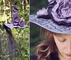 Dead Roses Halloween Witch Hat   Sew4Home