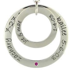 My future mom necklace! With two or three names that is the question~