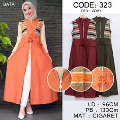 Jual Baju Gamis Maxi 323 Longvest Keren - Cek sekarang juga disini http://www.bajugamisku.com/baju-gamis-maxi-323-longvest