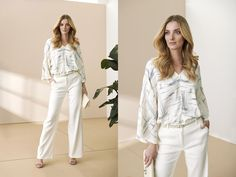 Collection - pietro filipi Catwalk, White Jeans, Capri Pants, Model, Collection, Fashion, Moda, Capri Trousers