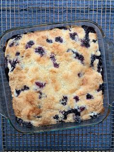 The Best Alton Brown Recipe *Isn't* the One You're Thinking Of Blueberry Desserts, Blueberry Cake, Köstliche Desserts, Delicious Desserts, Dessert Recipes, Yummy Food, Frozen Blueberry Recipes, Blueberry Cobbler Recipes, Blackberry Cobbler