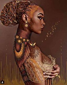 New African American Black Art Africa 68 Ideas Art Black Love, Black Girl Art, Black Is Beautiful, Black Girl Magic, Art Girl, Beautiful Artwork, African Girl, African American Art, African Beauty