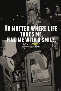 Favorite Mac Miller lyric. (: