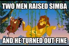 Simba turned out just fine.