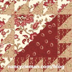Introducing the August Block of the Month Lady of the Lake* block is the August Fat Quarter Mystery Quilt Block. Like all blocks in this year's block of the month challenge, this block is Quilt Block Patterns, Pattern Blocks, Quilt Blocks, Sampler Quilts, Scrappy Quilts, Tumbler Quilt, Red And White Quilts, Half Square Triangle Quilts, Civil War Quilts