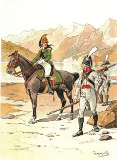 France - Planche de TANCONVILLE - Dragons d'ENGHIEN et Infanterie Noble.   Collections, Militaria, Documents, revues, livres   eBay!