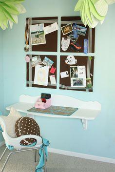 cute DIY desk for room!