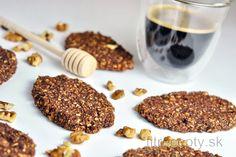 Raňajkové sušienky (na viacero spôsobov) | fitrecepty.sk Stevia, Vegan Gluten Free, Tofu, Smoothie, Almond, Oatmeal, Food And Drink, Diet, Cookies