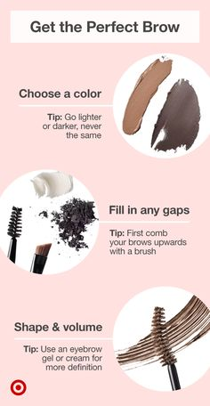 Shape & define your eyebrows with bold makeup ideas tutorials & ideas for flawless full arches. Shape & define your eyebrows with bold makeup ideas tutorials & ideas for flawless full arches. Eyebrow Makeup Tips, Beauty Makeup Tips, Skin Makeup, Makeup Inspo, Beauty Skin, Beauty Hacks, Makeup Ideas, Eyebrow Enhancers, Makeup Tips For Beginners