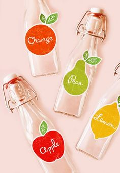 Fruits of the spirit- Free Festive Fruit Drink Labels Tutti Frutti, Printable Labels, Free Printables, Labels Free, Printable Paper, Drink Labels, Bottle Labels, Drink Tags, Canning Labels