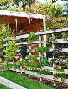 vertical amenagement petit jardin