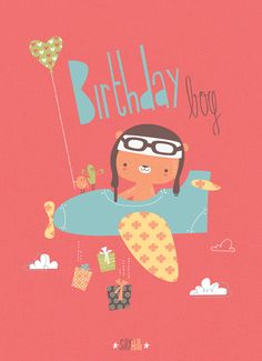 Birthday Boy greeting card - Available for licensing