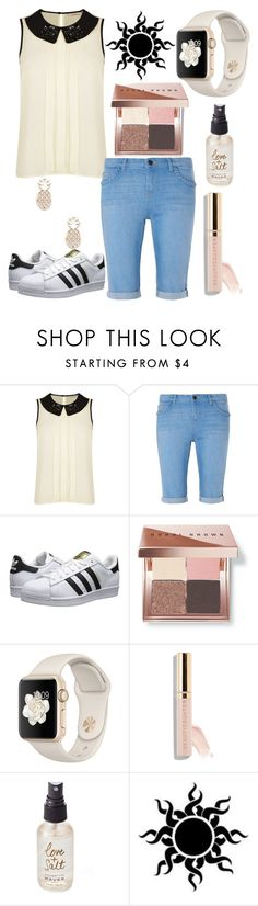 """Movie Night"" by emmy-awards ❤ liked on Polyvore featuring Darling, Dorothy Perkins, adidas Originals, Bobbi Brown Cosmetics, Olivine and Sole Society"
