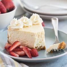 Torta fredda allo yogurt senza cottura