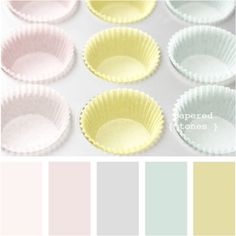 Pretty pastels - perfect for spring makes or new baby projects. Gorgeous colours