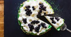 Learn how to make Zac Young's tart, creamy and slightly boozy frozen margarita pie recipe from the David Burke Restaurant Group.