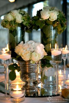 table decorations by infinity weddings and events tuscany wedding table centres wedding table