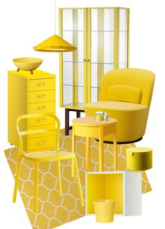 Yellow from IKEA.