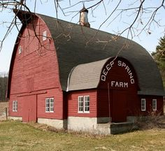 FARMHOUSE – BARN – vintage early american barn commonly used for storing farm equipment, storage of harvested crops, or providing shelter for livestock, a lovely place.