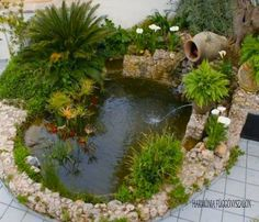 make it a complete heart shaped pond. Then, add plants with heart shaped leaves. A pond supplies an exciting addition to any garden, even just a small one. A pond isn't something which is simple to move if, in a couple of years, you don't like its loc Outdoor Ponds, Ponds Backyard, Outdoor Gardens, Ponds For Small Gardens, Small Ponds, Pond Design, Garden Design, Garden Waterfall, Pond Landscaping
