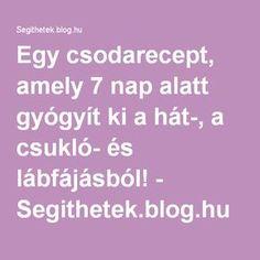 zselatin ital - Segithetek.blog.hu Arthritis, Health, Blog, Health Care, Blogging, Salud