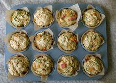 Hartige muffins met spinazie en feta ♥ Foodness - good food, top products, great health