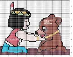 Monarch: The Big Bear of Tallac perler bead pattern by Mauricette