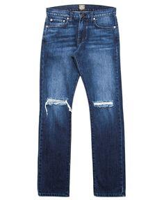 Kennedy Denim Co. - Oxidized Indigo Washed Denim (French Blue)