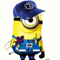 EMT minion. Get trained! Toll-free 844-900-SAFE (7233) or www.safetytrainingpros.com 'Like' us on Facebook at https://www.facebook.com/SafetyTrainingPros