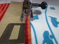 """Kleinkram: Tutorial für """"Schönere Nähte""""Feines Schleifpapier hilft wenn es keinen verstellbaren Fussdruck gibt."""