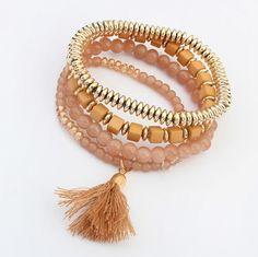 Boho Style Multilayer Elastic Bracelet //Price: $13.00 & FREE Shipping //     #bohemian