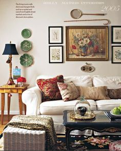 livingroom2005, Holly Mathis Interiors, @Madelin March for your mom's living room.