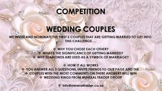 WIN WIN WIN CHALLENGE ALL WEDDING COUPLES TO JOIN!