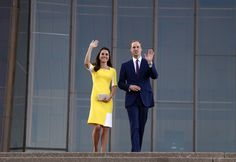 Britain's Prince William waves with his wife Catherine, the Duchess of Cambridge, as they walk down the steps of the Sydney Opera House April 16, 2014. Britain's Prince William, his wife Kate and their son Prince George flew from New Zealand to Australia, where they will now spend nine-days touring the country. REUTERS/David Gray (AUSTRALIA - Tags: ROYALS ENTERTAINMENT) via @AOL_Lifestyle Read more…