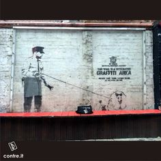 Contreboutiques meet Banksy  Rivington Street, Shoreditch  London  @simodt @adrienbelanger  #banksy #london #rivingtonstreet #streetart #graffiti #contrestyle #contreboutiques #instastyle #art #mood #instamood #fashion #fashiongram #ootd #love #beautiful #photography #likeforfollow #outfit #onlineshop