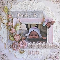 Peek-A-Boo *Scrap That! exclusive Pion design kit* - Scrapbook.com