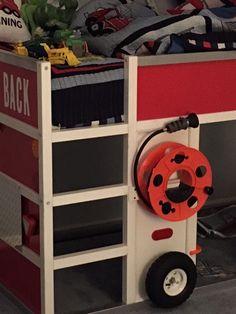 FDNY fire truck bunk bed from IKEA KURA - IKEA Hackers - IKEA Hackers