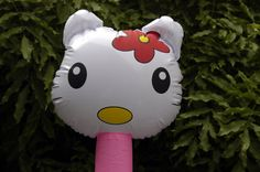 Hello kitty nice to see you  #hello #kitty #balloon  #children #birthday #gifts #parties www.lankylongloons.co.uk