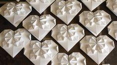 Le 3 partecipazioni di matrimonio  fai da te con l'origami