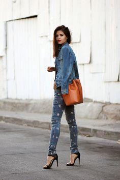// Adriana Gastélum via fake-leather