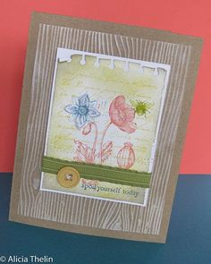 Oh so beautiful card by Alicia Thelin