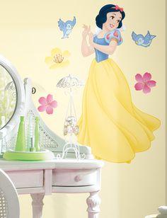 Disney Princess - Snow White Peel & Stick Giant Wall