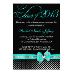 >>>Low Price Guarantee          	Black White Teal Polka Dot Graduation Invitation           	Black White Teal Polka Dot Graduation Invitation lowest price for you. In addition you can compare price with another store and read helpful reviews. BuyThis Deals          	Black White Teal Polka Dot ...Cleck Hot Deals >>> http://www.zazzle.com/black_white_teal_polka_dot_graduation_invitation-161908825774692623?rf=238627982471231924&zbar=1&tc=terrest