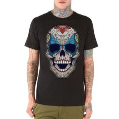 "Men's ""Smile Now"" Tee by Iron Fist (Black) InkedShop"