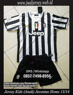 Baju Bola Anak Juventus 2013/2014 Home | Kaos Bola Anak Juventus 2013-2014