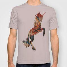 Unicorn T-shirt by MAKE ME SOME ART - $22.00