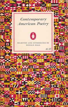 Contemporary American Poetry (Penguin) selected and introduced by Donald Hall