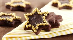 How to make the perfect Spiced Chocolate Stars by  on Food Network UK.