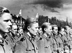 Finnish SS Volunteers. The Finns were ranked as the best soldiers of WW2. Being next door to the USSR led by a homicidal maniac, gave them little choice.